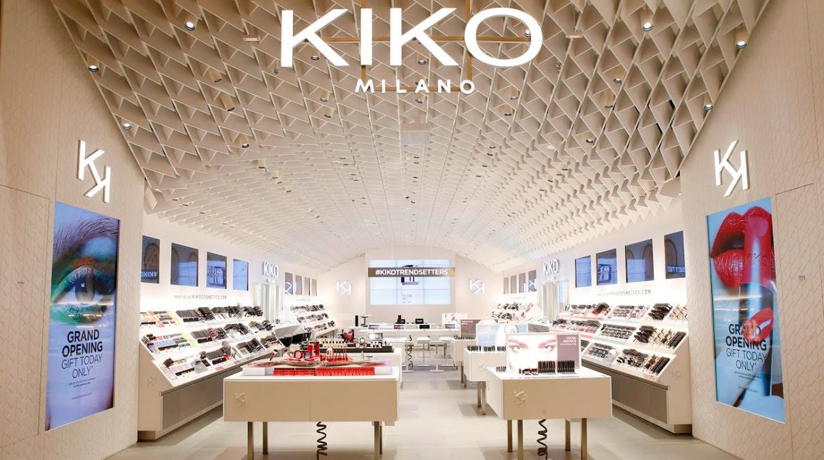 KIKO store and digital monitors