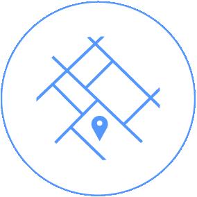 Digital maps icon