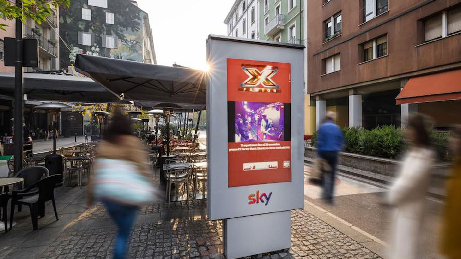 XuniPlay Video Streaming in OOH